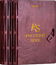 RUSSIAN SHICK ROYAL 1000 ml in the «Book» wooden box